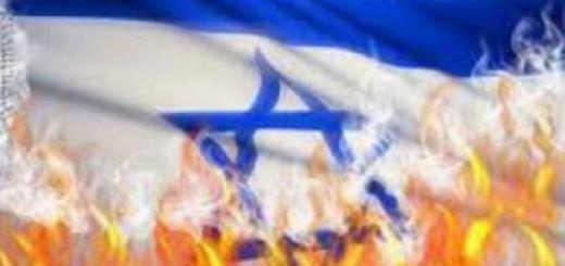 israel's right to exist - burning israeli flag