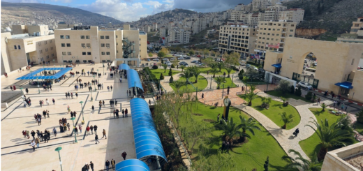 """Showing the An-Najah University campus to demonstrate that the occupation is not as """"bad"""" as BDSers would like us to believe."""